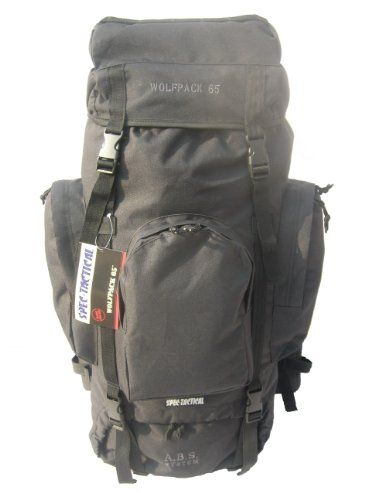 spectactical wolfpack 65l black click image to review more details this is an affiliate link campingoutdoorgadgets