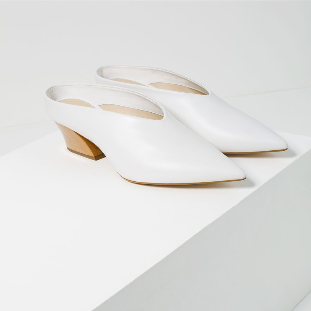 LEATHER MULE SHOES-View all-SHOES-WOMAN | ZARA Canada