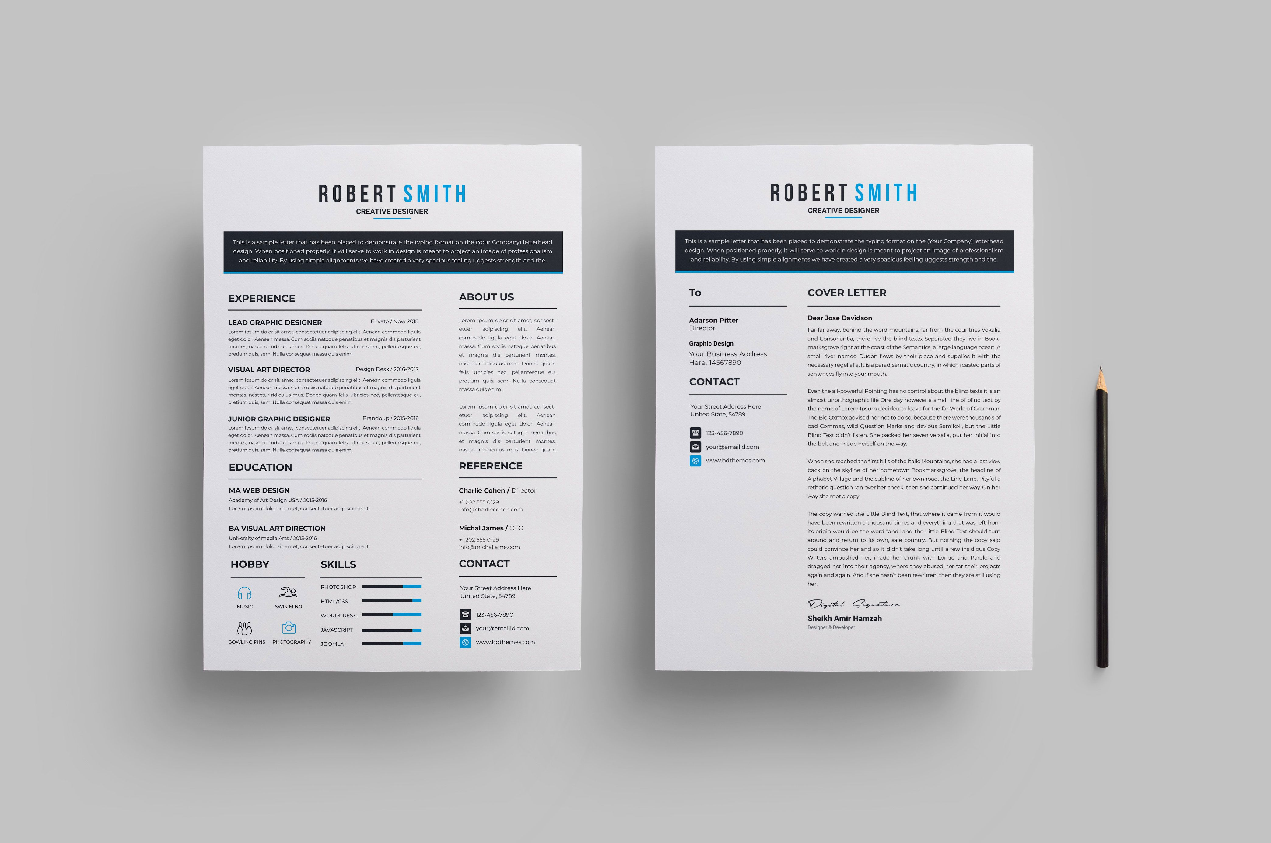 Minimalist Sleek Cv Design Graphic Templates Cv Design Resume Design Template Cv Design Template