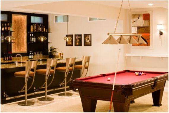 am nagez votre cave en une pi ce habitable salle. Black Bedroom Furniture Sets. Home Design Ideas