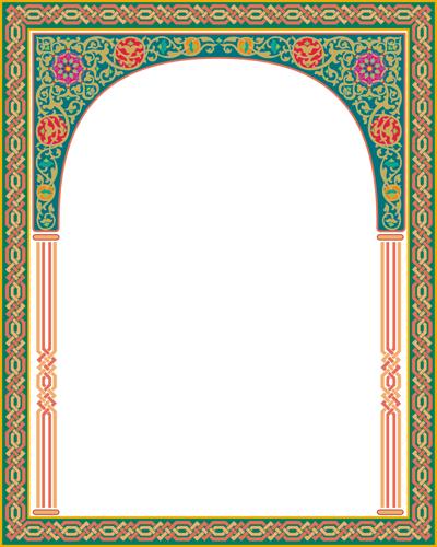 اطارات اسلاميه جديده للتصميم
