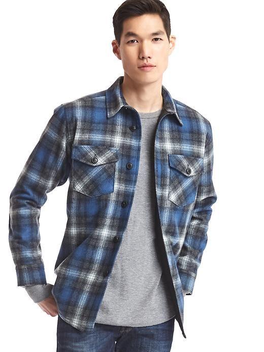 e53d61c2986 Gap + Pendleton shirt jacket