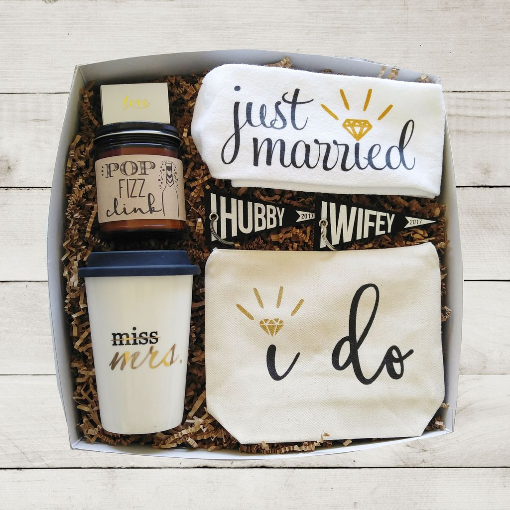 Perfect Wedding Gift For Bride: Bride Gift Box For Her Wedding Day Gift For Bride Miss To