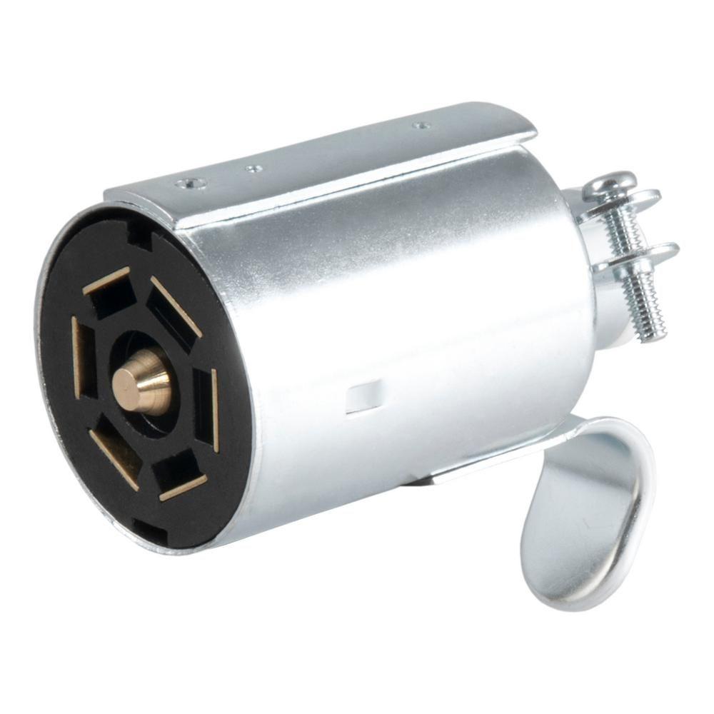 medium resolution of curtr metal 7way round rv blade wiring connector trailer end wiring diagram today