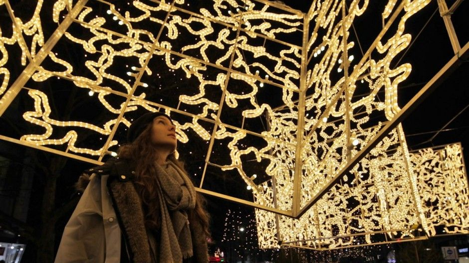 Brut Deluxe have created a series of light installations in Berlin, Germany.The installations are on display until January 6th, 2014.