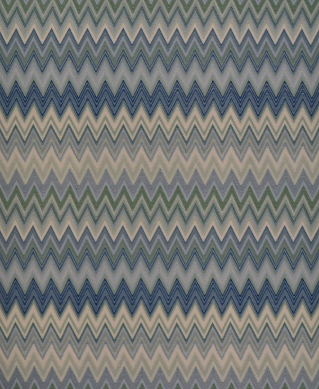 a5b7ec505048 York Wallcoverings MI10063 Missoni Home Zig Zag Multicolore Wallpaper -  Cream Mint Green Navy - The Savvy Decorator