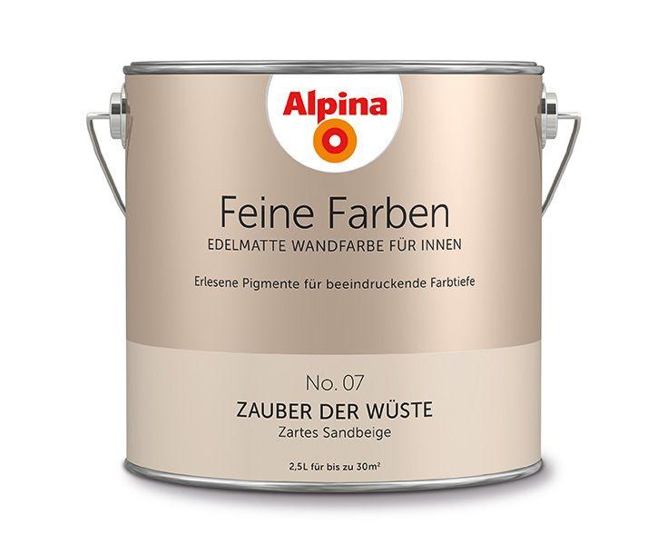 Edelmatte Wandfarben In Braun Feine Farben Alpina Farben Wandfarbe