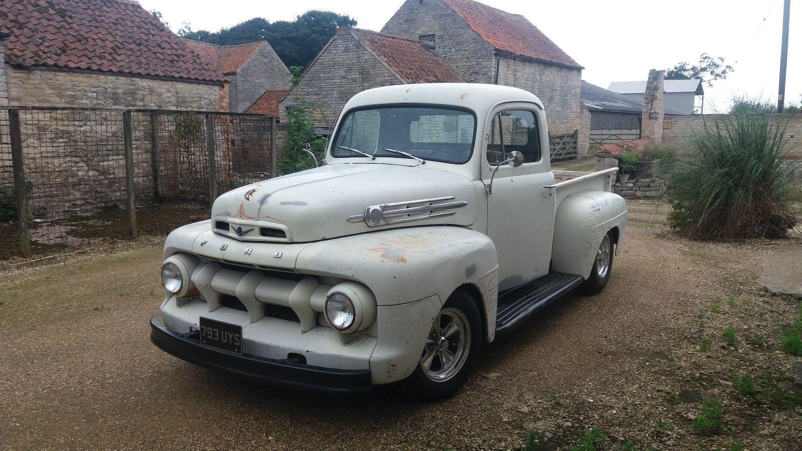 Info Pics 1948 To 1952 Ford F1 Trucks 1952 Ford Truck Classic