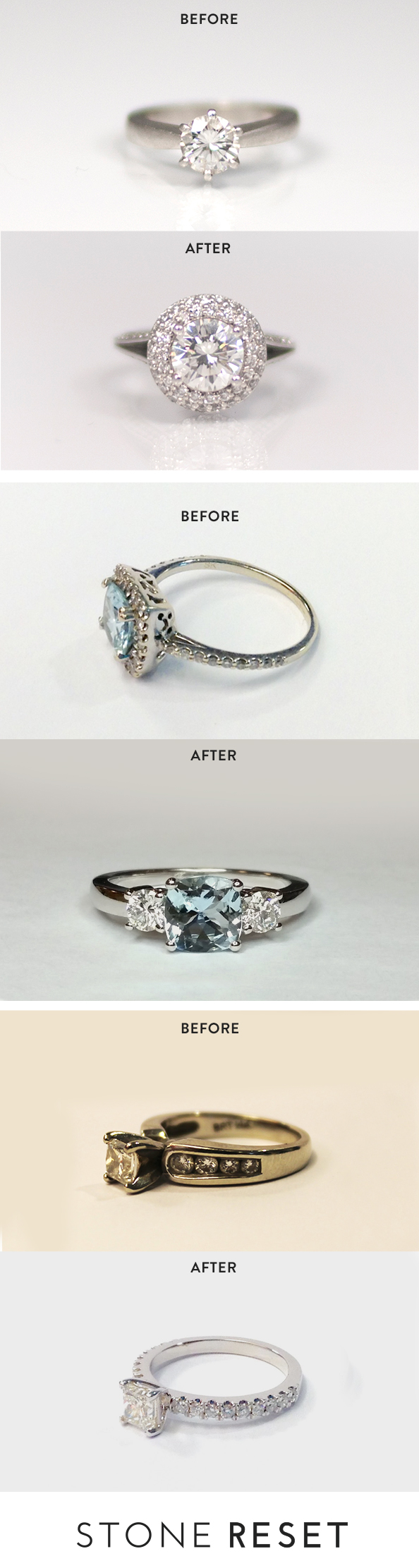 Secretly Hate Your Engagement Ring Upgrade Your Left Hand With