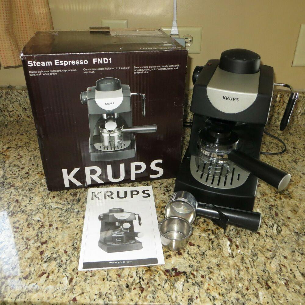 KRUPS Allegro Espresso Maker FND1 IOB Krups in 2020
