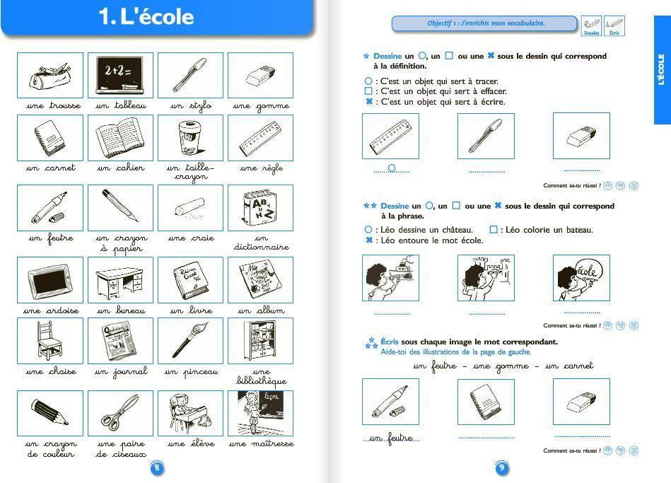 Bien connu Le vocabulaire au CE1 | Le vocabulaire, CE1 et Vocabulaire NU84