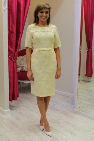 Daisy May - Lemon Shift Dress   Mother of the bride   Pinterest