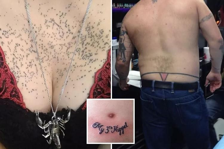 Are these the worst tattoos ever? Ink fans show off their inking disasters — The Sun