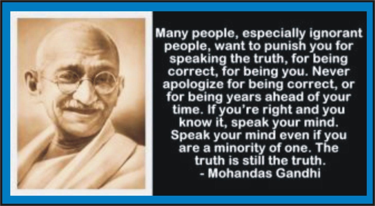 Gandhi Quotes About Nature. QuotesGram