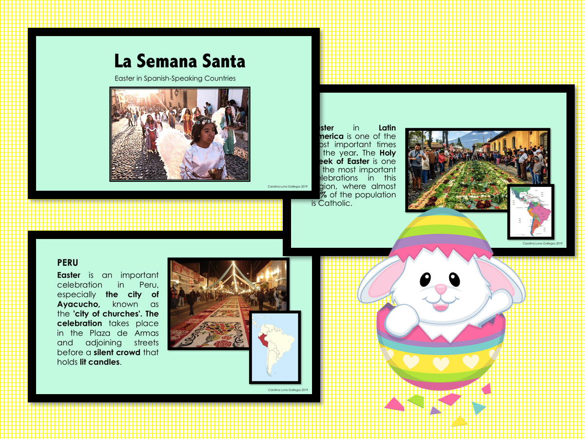 Power Point Easter In Spanish Speaking Countries La