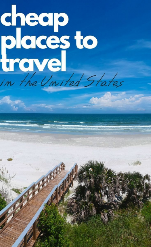 Looking for affordable travel in the USA?  These cheap places to travel in the US will surprise you. #travel #usa #cheaptravel #familytravel #vacation #traveldestinations #travel #destinations #romantic #travel #destinations