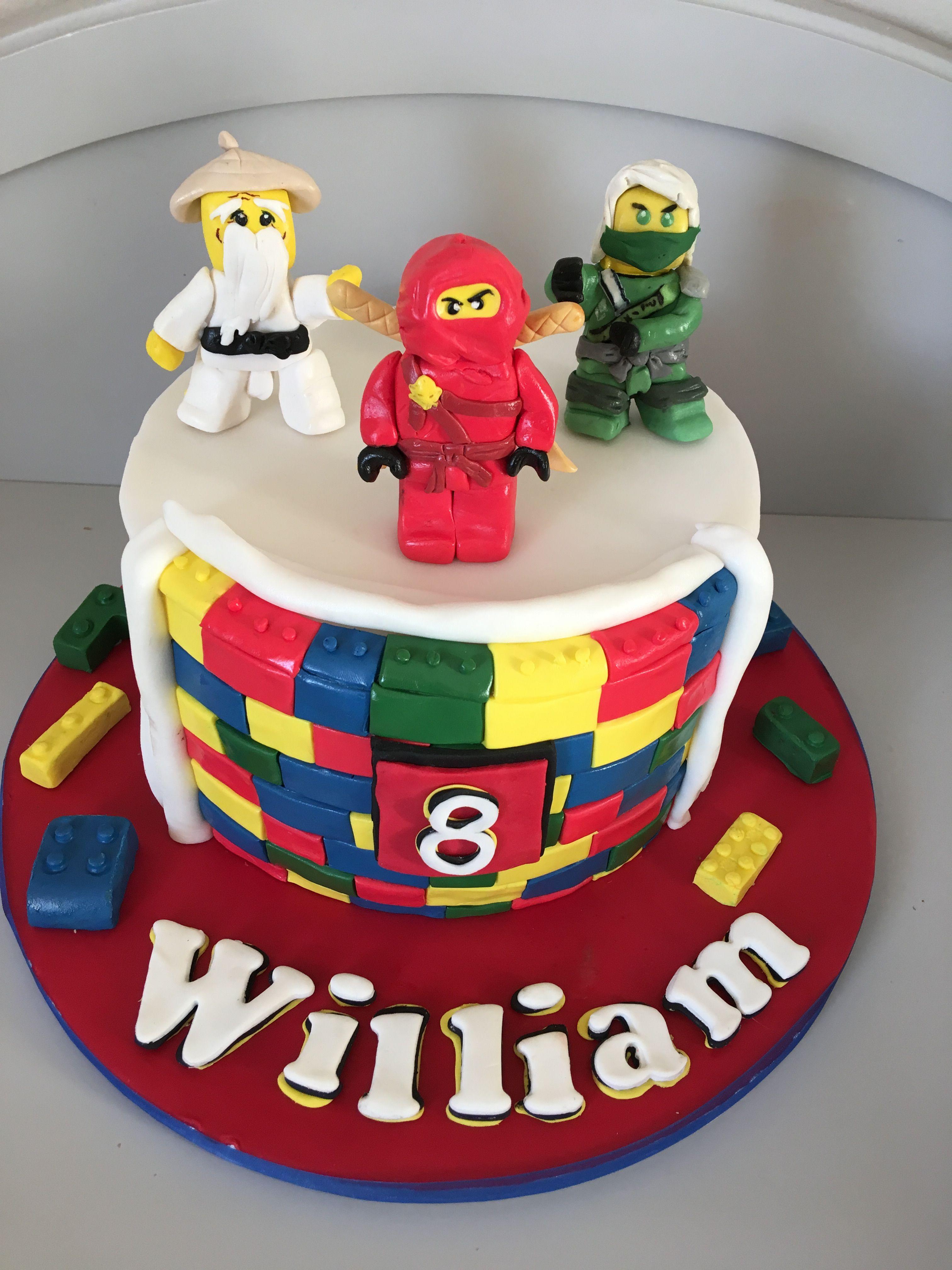 Lego Ninjago Cake Ninjago Cakes Lego Ninjago Cake Cake