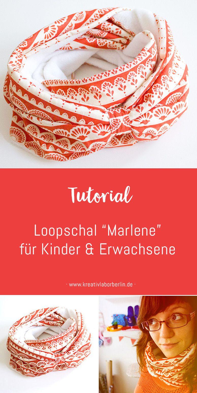 """Photo of Kostenlose Nähanleitung: Loopschal """"Marlene"""" für Erwachsene und Kinder – Kreativlabor Berlin"""