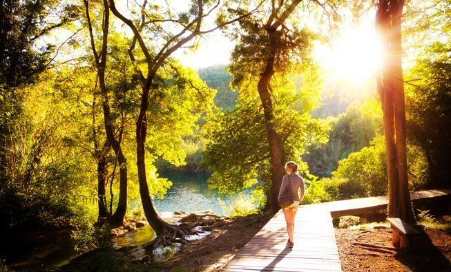 Living in natural spaces is good for women. A new study finds the greener your area, the longer you may live.