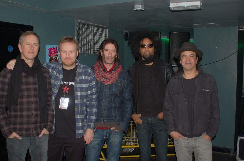 With Alice In Chains