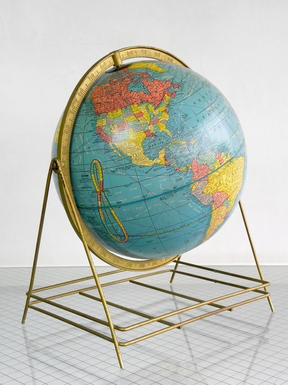 Crams imperial world globe with unique wire base1950s 60s via crams imperial world globe with unique wire base1950s 60s via cathode blue on etsy gumiabroncs Choice Image