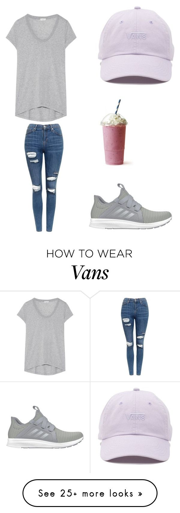 """""""Beautiful weather outside"""" by sarahfohlen on Polyvore featuring Vans, Splendid, Topshop, adidas, Spring and 2k17"""