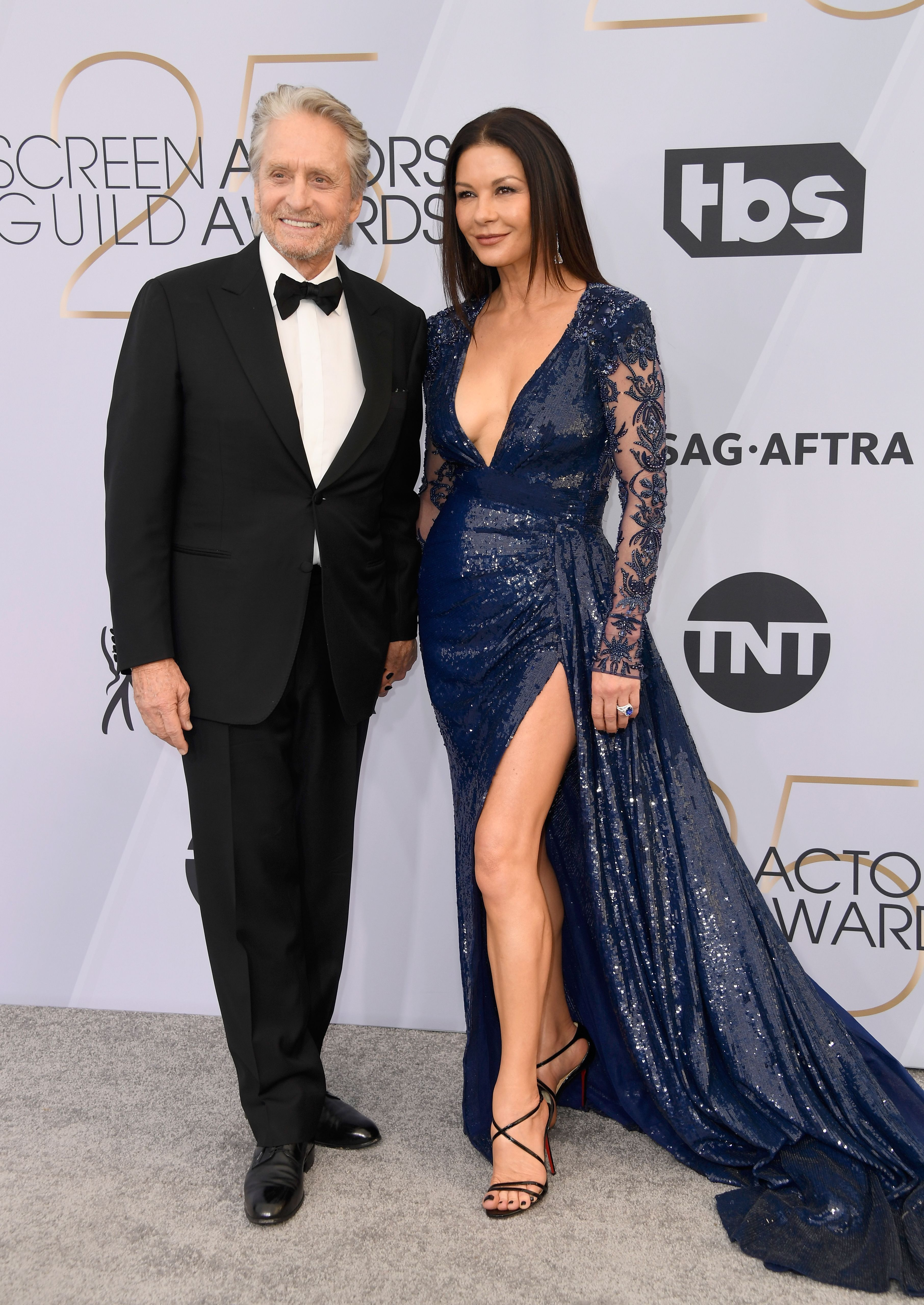 fba7622ecf6 Michael Douglas and Catherine Zeta-Jones are on the red carpet together in  early 2019 looking absolutely stunning as a couple.