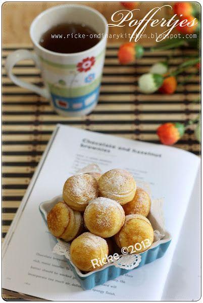 Just My Ordinary Kitchen Poffertjes Dutch Mini Pancake Puffs Kue Dadar Resep Makanan Kue Lapis