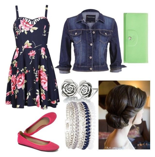 """""""Summer Night"""" by stargirl134 on Polyvore featuring Ally Fashion, maurices, J.Crew, Chamilia, Longchamp and River Island"""