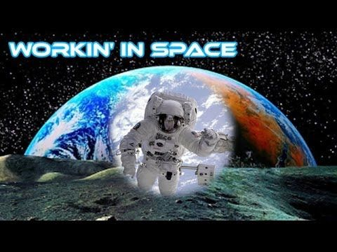 Astronauts Working in Space Song | Entertaining NASA Video ...