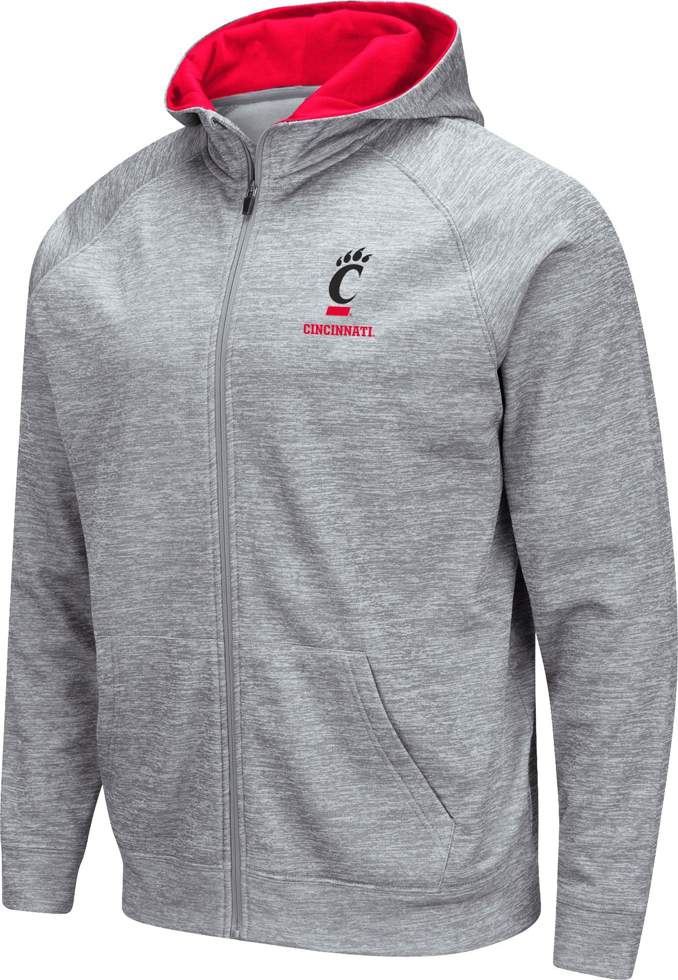 Colosseum Youth Fresno State Bulldogs Quarter Zip Pull-Over Hoodie