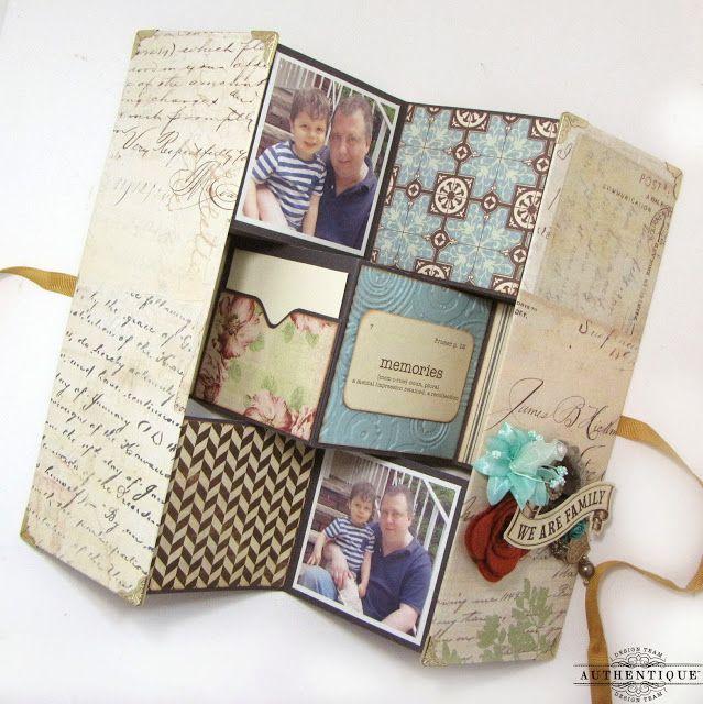 A Legacy Tri Fold Mini Album Embrace Serendipity Craft To Make