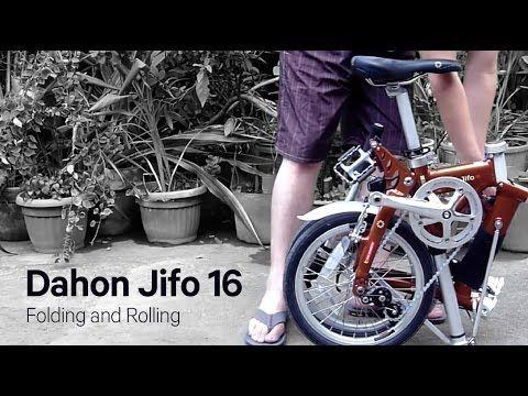 Dahon Jifo 16 Folding And Rolling Rolls Fold Bike
