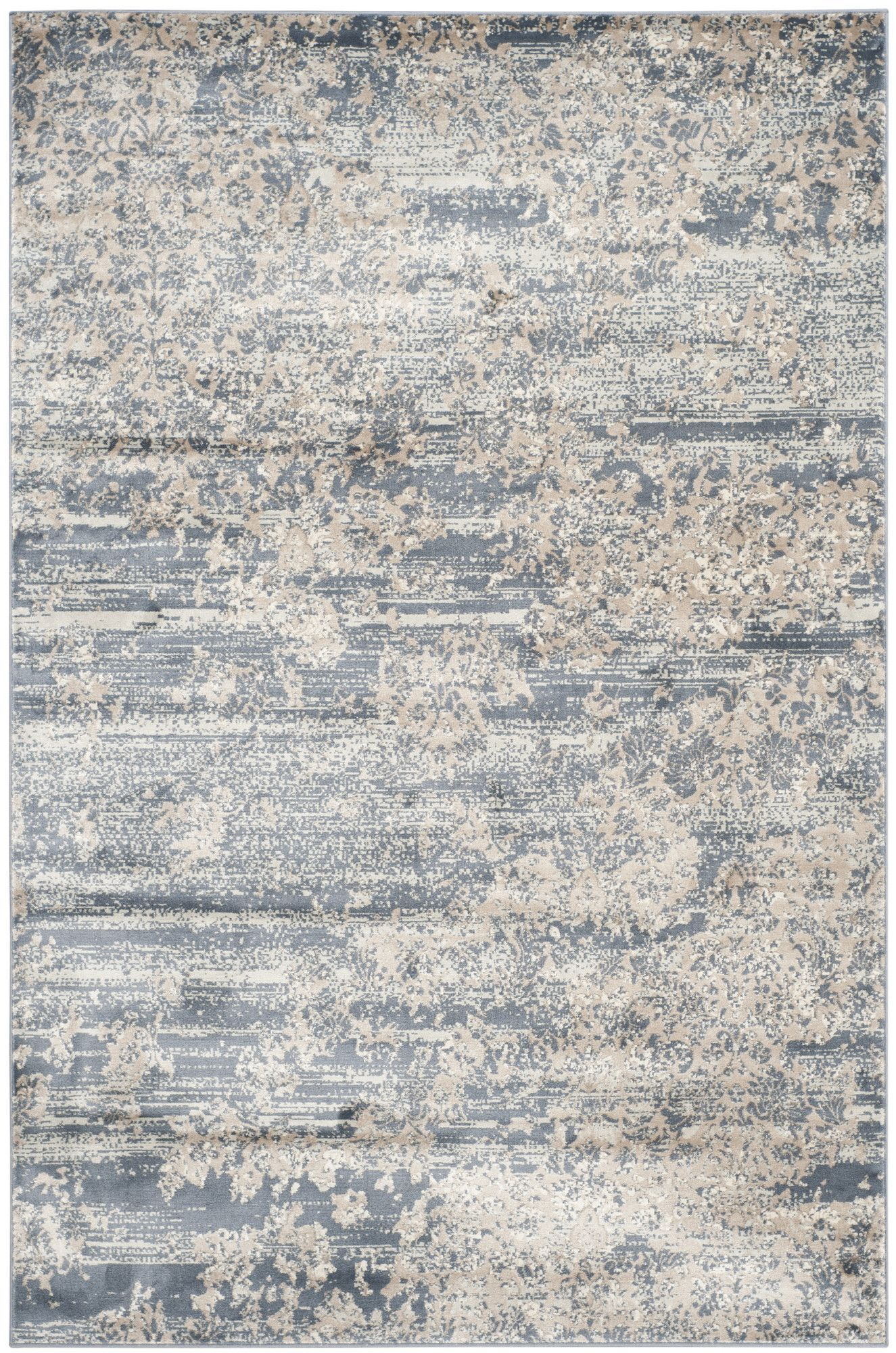Clair Southwestern Gray Area Rug Rugs In Living Room