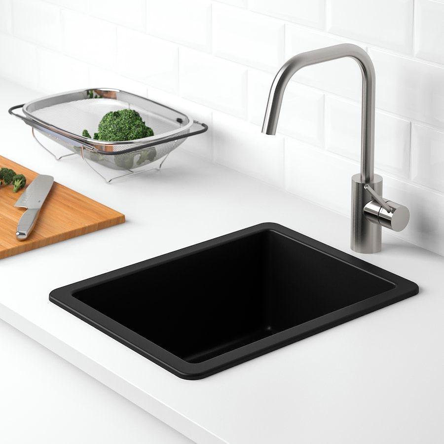 Kilsviken Sink Black Quartz Composite Ikea Sink Inset Sink Stainless Steel Kitchen Sink