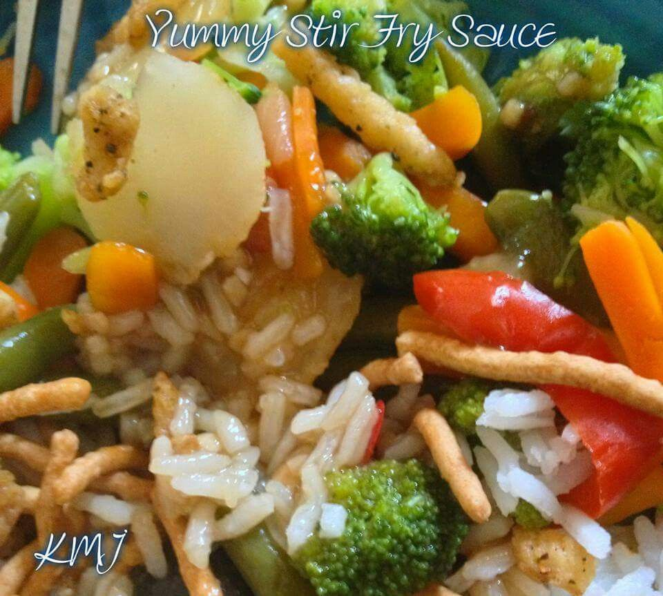 stir fry sauce  vegetable dishes homemade sauce stir