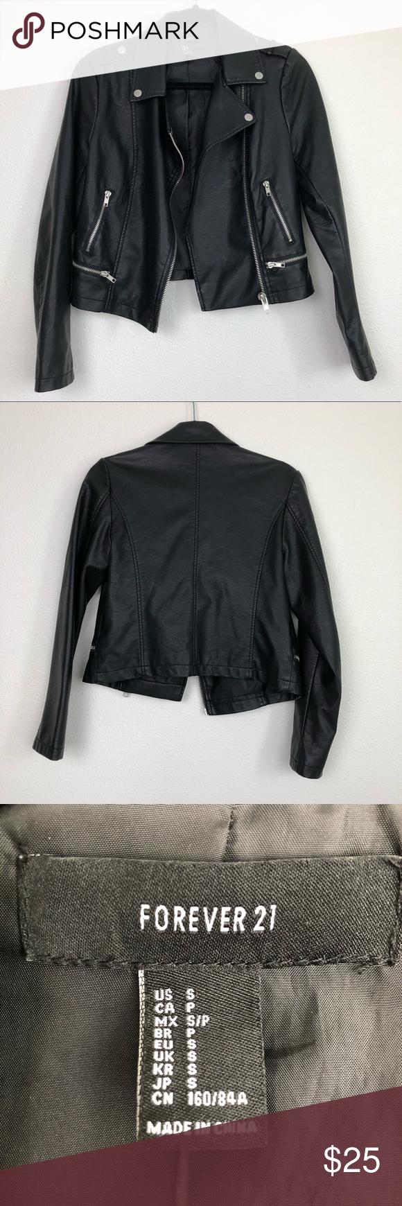 Forever 21 Black Faux Leather Moto Jacket Black Faux Leather Moto Jacket Faux Leather Moto Jacket Leather Moto Jacket [ 1740 x 580 Pixel ]