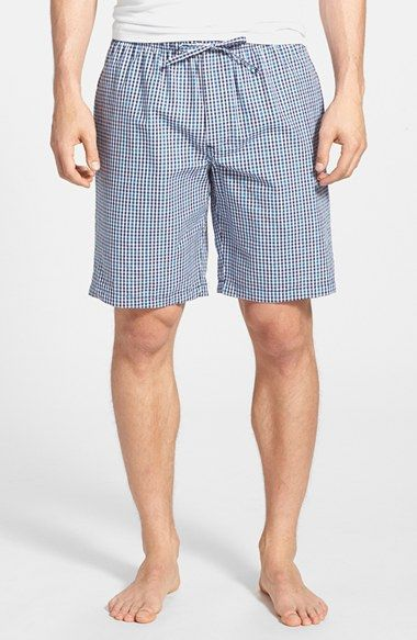 Men's Nordstrom Plaid Pajama Shorts
