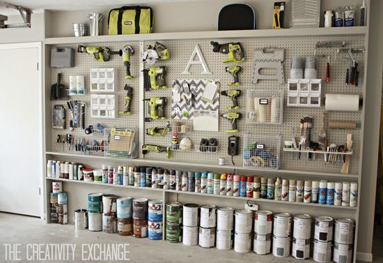 Organizing With Style Roundup Of Spray Paint Storage Solutions