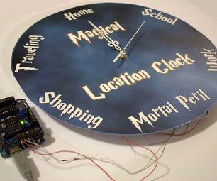 Magical Location Clock | Arduino & Raspberry Pi | Clock, Popular