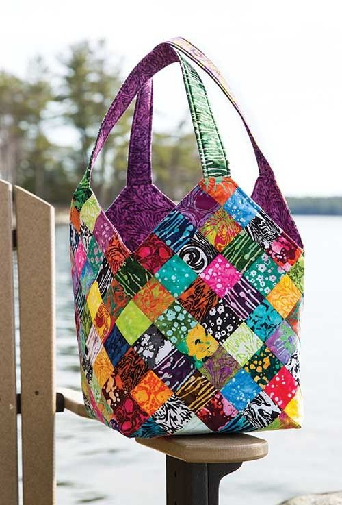 Pin By Jan On Bags Bag Pattern Quilted Tote Bags