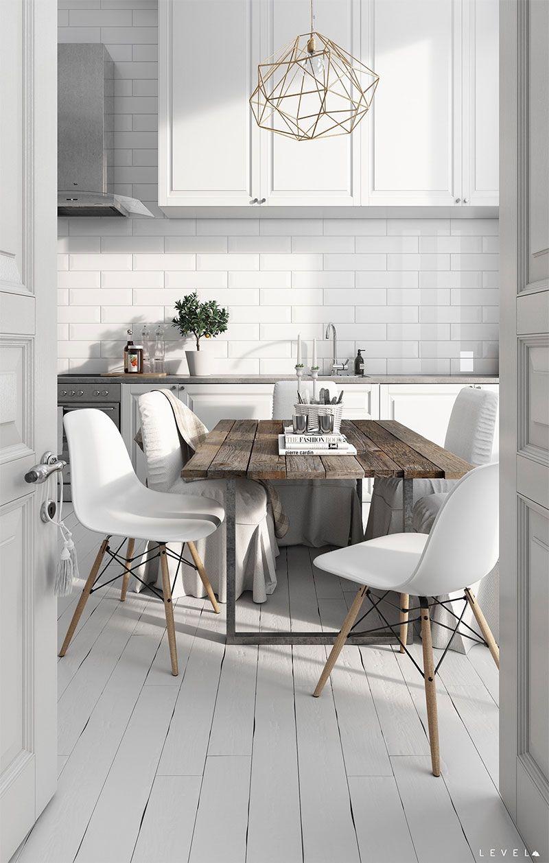 D co scandinave 50 id es pour d corer votre cuisine au style nordique interior photos for Cuisine style nordique