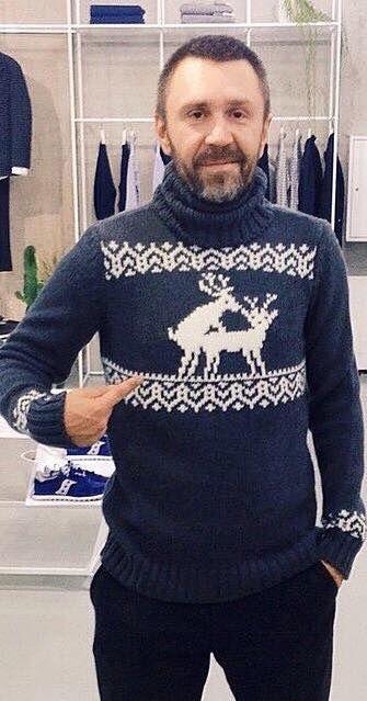 2f2fa7d89cd53 Правильный свитер с оленями | knit men | Свитер, Мужской свитер и ...