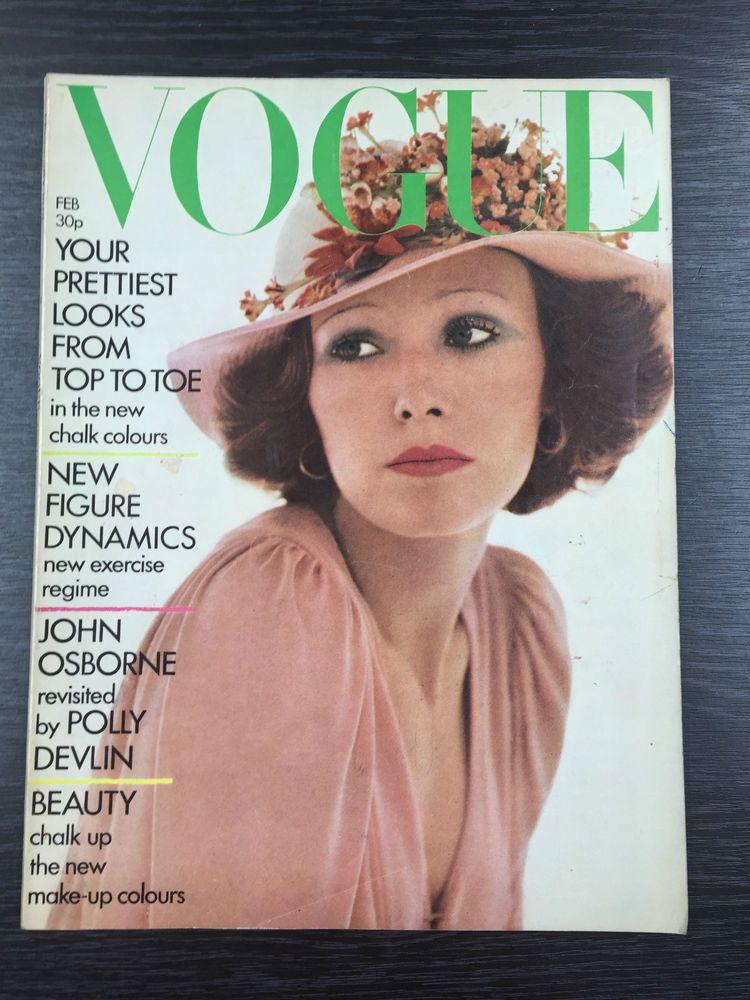 Details about VOGUE Magazine February 1973 Vogue