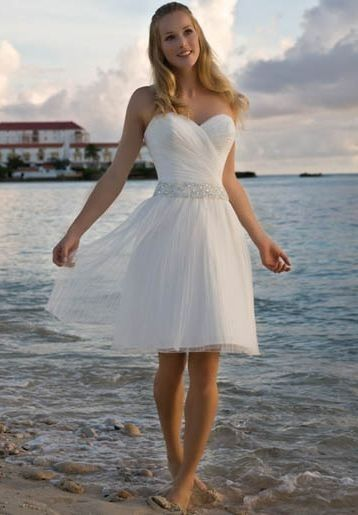Wedding dresses simple from white azalea