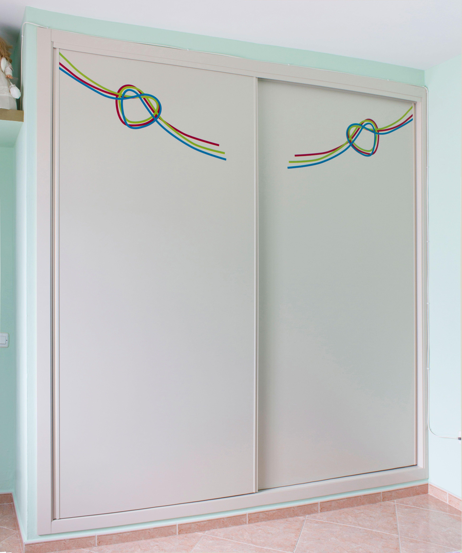 Armario Empotrado A Medida De Puertas Correderas Color Blanco