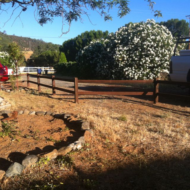 Another Low Cost Makeover...add A Garden Fence. We Just