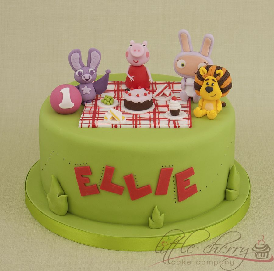 Peppa Pig Cake - DIY party ideas DIY party decorations ...