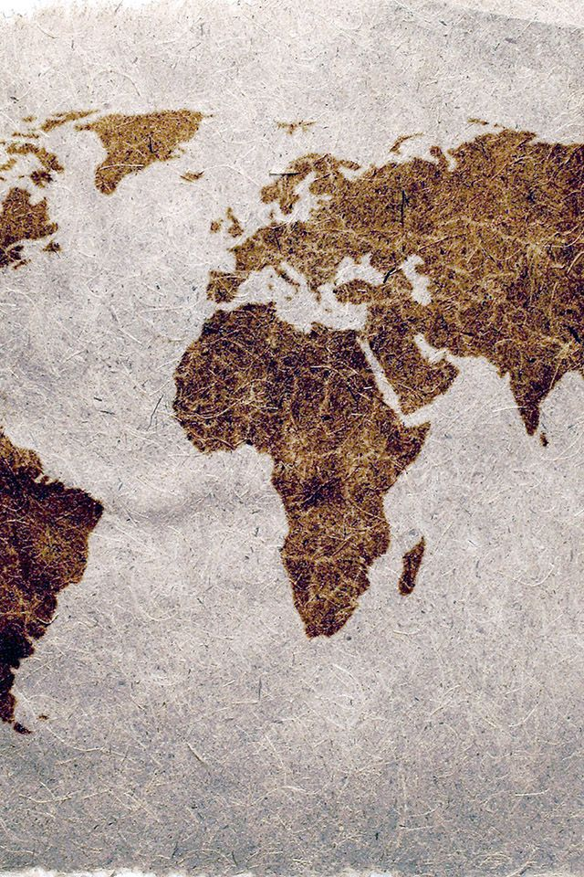 Worldmaponrough Download IPhone IPad Wallpaper At Freeioscom - World map ipad wallpaper