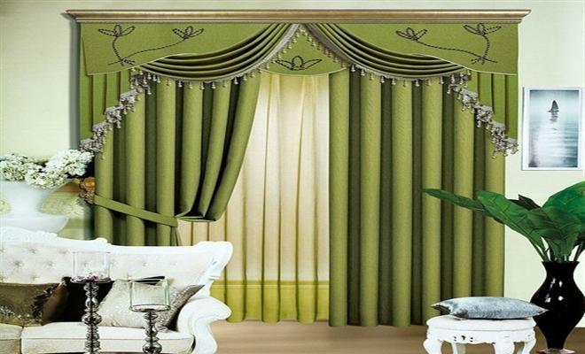 Modern Living Room Curtain Designs